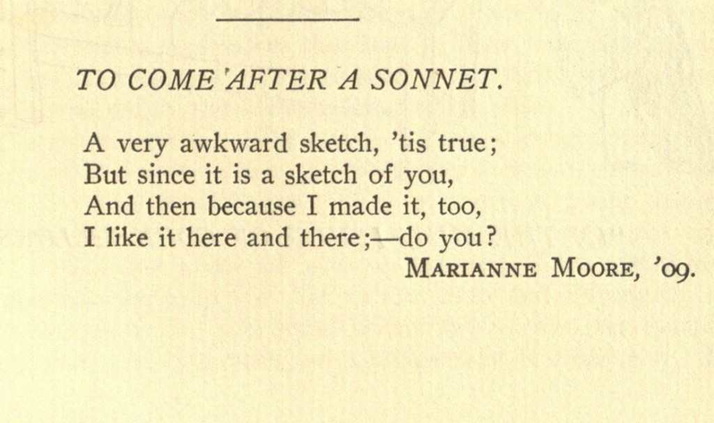 To  Come After a Sonnet